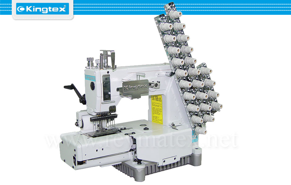 MT-4512P-064 Maquina de coser industrial Kingtex cadeneta chainstitch reymatex españa portugal france italia