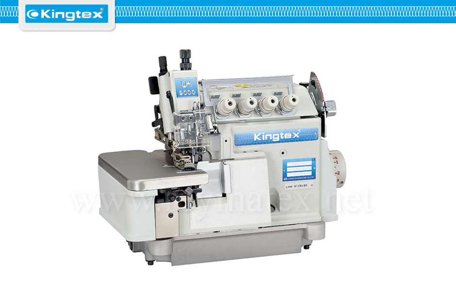 Maquina de coser industrial Kingtex overlock top feed arrastre superior reymatex españa portugal france italia UHF-9000 series