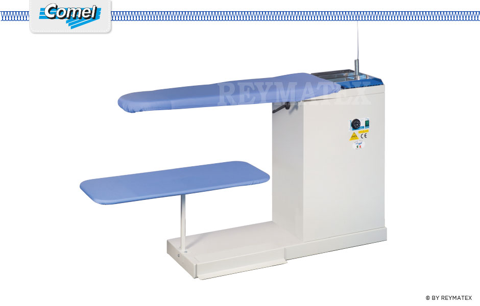 BR/A - BR/A + ASP - Comel - Ironing - Industrial universal ironing table. Mesa universal industrial de aspiración.