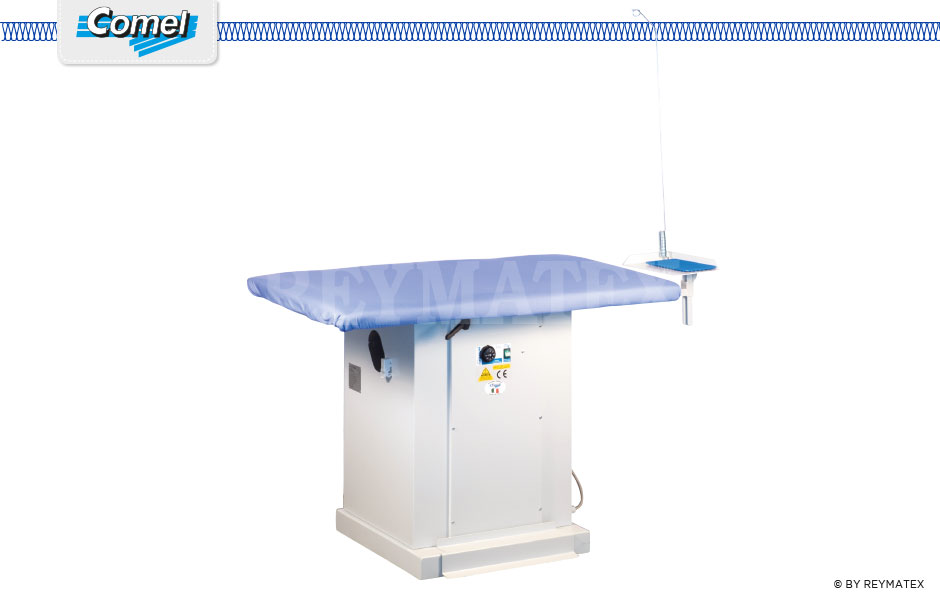 MP/A y MP/A+ASP Rectangular ironing tables Comel. Mesa industrial rectangular Comel.
