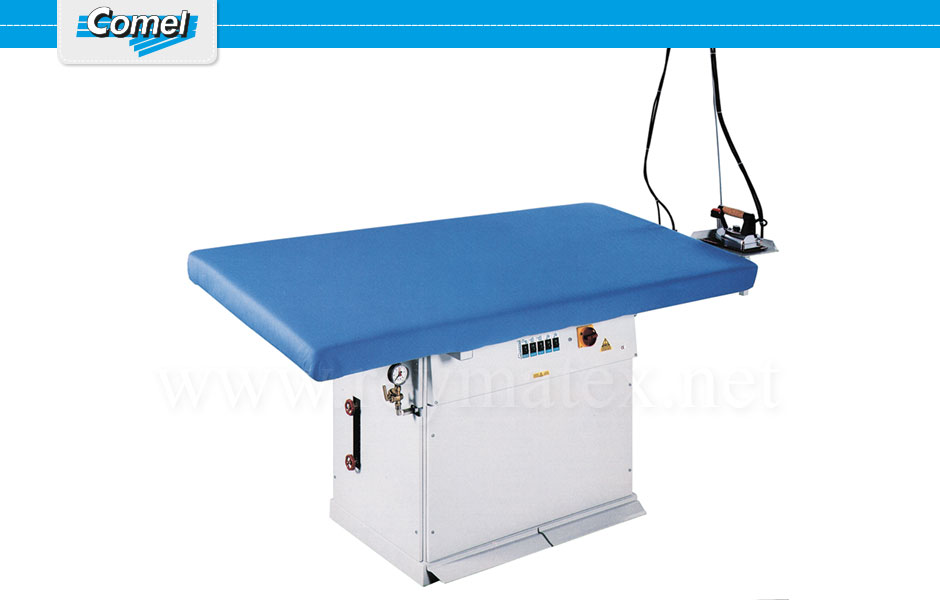 MP/A+ASP(180x90) - MP/A+ASP(180x90) - MP/A/PV - MP/F/PV. Rectangular ironing tables Comel. Mesa industrial rectangular Comel.