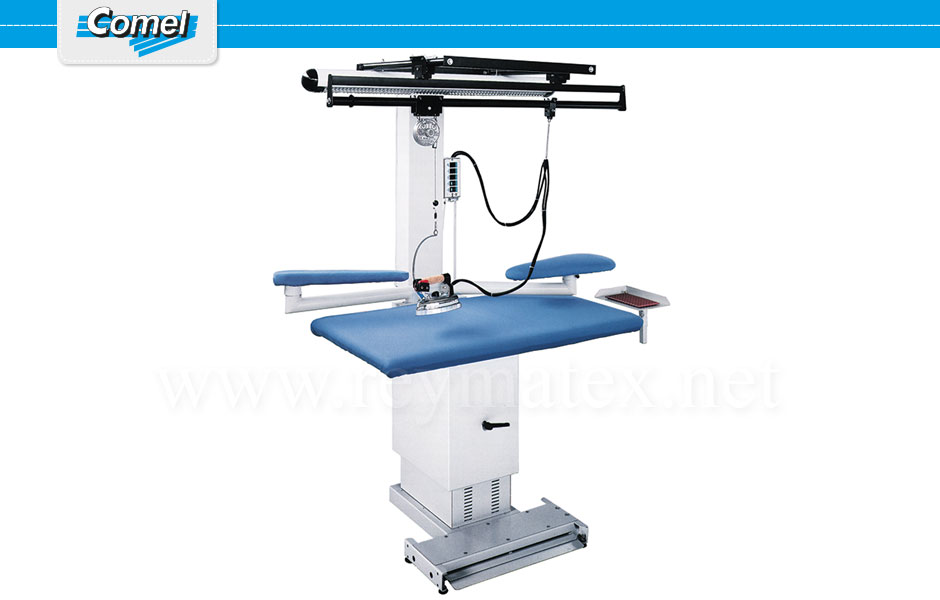 MP/A/SR. Rectangular ironing tables Comel. Mesa industrial rectangular Comel.