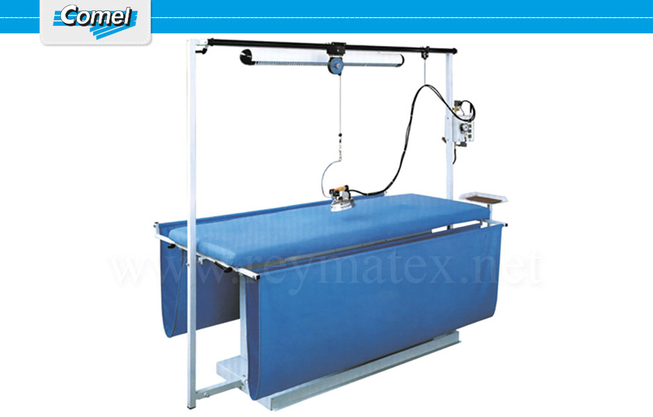 MP/F/T - MP/A/T. Rectangular ironing tables Comel. Mesa industrial rectangular Comel.