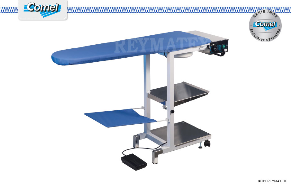 COMELUX-A / COMELUX-A-S. Universal semi industrial ironing table Comel. Mesa de plancha semi industrial universal Comel.