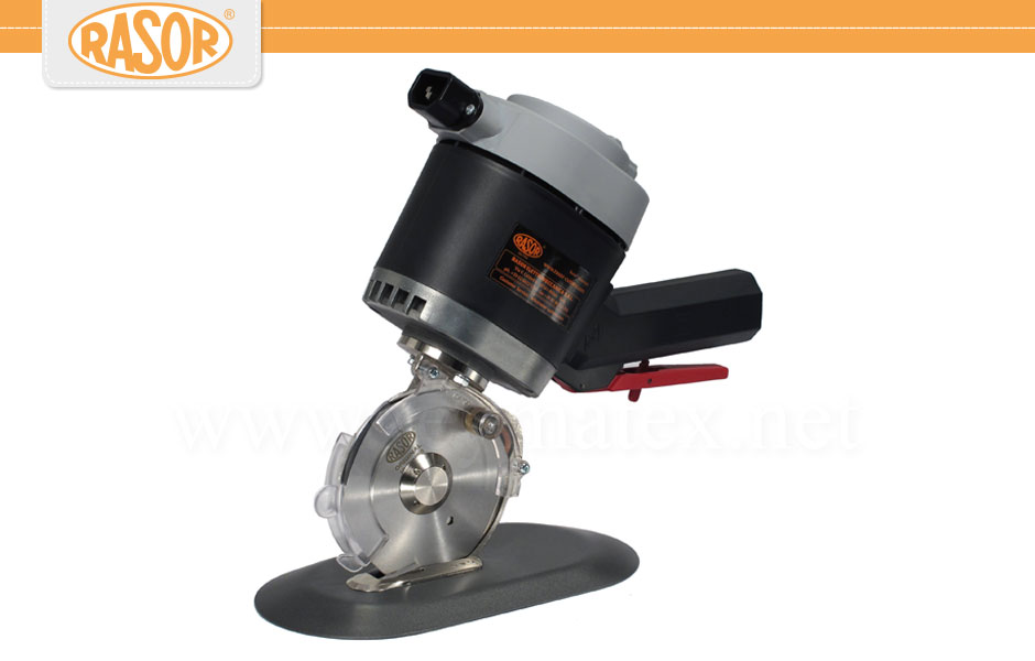 DS-100 / SW-100- Rasor - Cutting - Cuchilla circular con base o pie electrica. ELECTRIC BENCH CUTTERS Hand circular knife. Reymatex España.