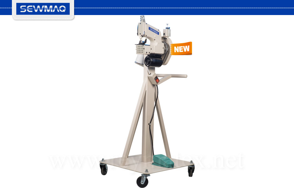 SW-MF300A - Máquina para cerrar sacos Sewmaq. Bag closer machine Sewmaq. España - France Machine à coudre des sacs - Italia macchina per chiudere i sacchi - Deutschland Sackverschliemachine- potrugal Máquina de costurar