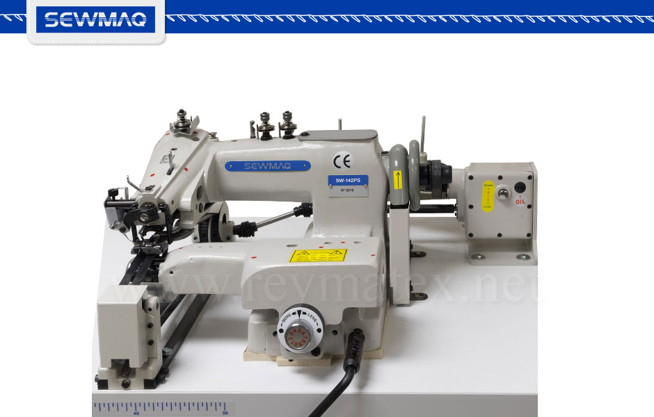 SW-141-PS - Blindstitch sewing machine. Máquina de coser de puntada invisible. Reymatex - Sewmaq - España - France Machine à coudre - Italia macchina da cucire - Deutschland Nähmaschine- porugal Máquina de costurar