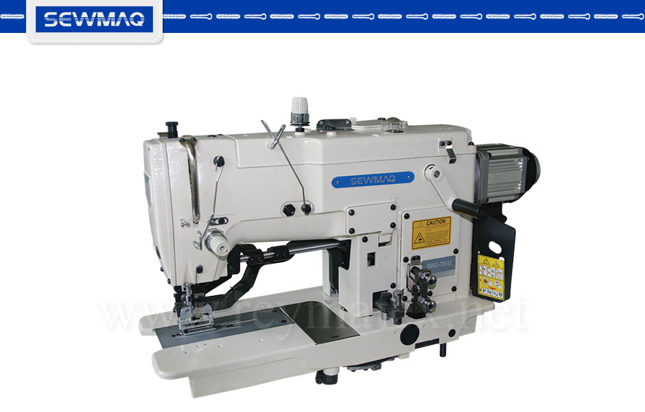 SWD-781U Buttonhole machines. Sewmaq. Industrial machines. Máquina de hacer ojales industrial. Reymatex Italia France deutchland