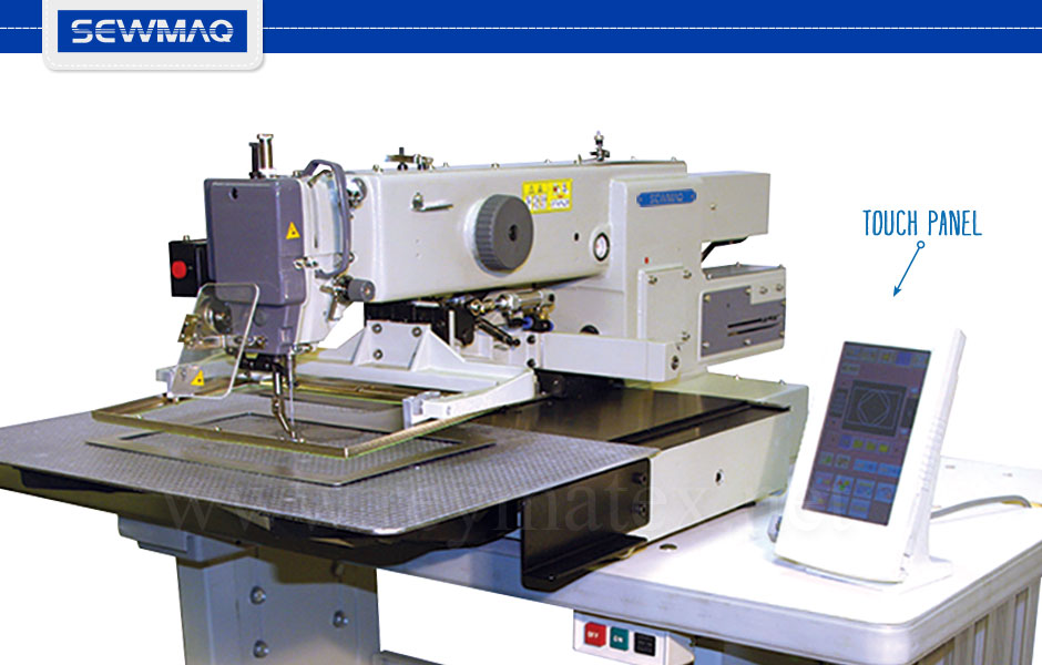 SW-3020M-NAA Pattern sewing machines. Sewmaq. Industrial machines. Máquina de costura programada industrial. Reymatex Italia France deutchland