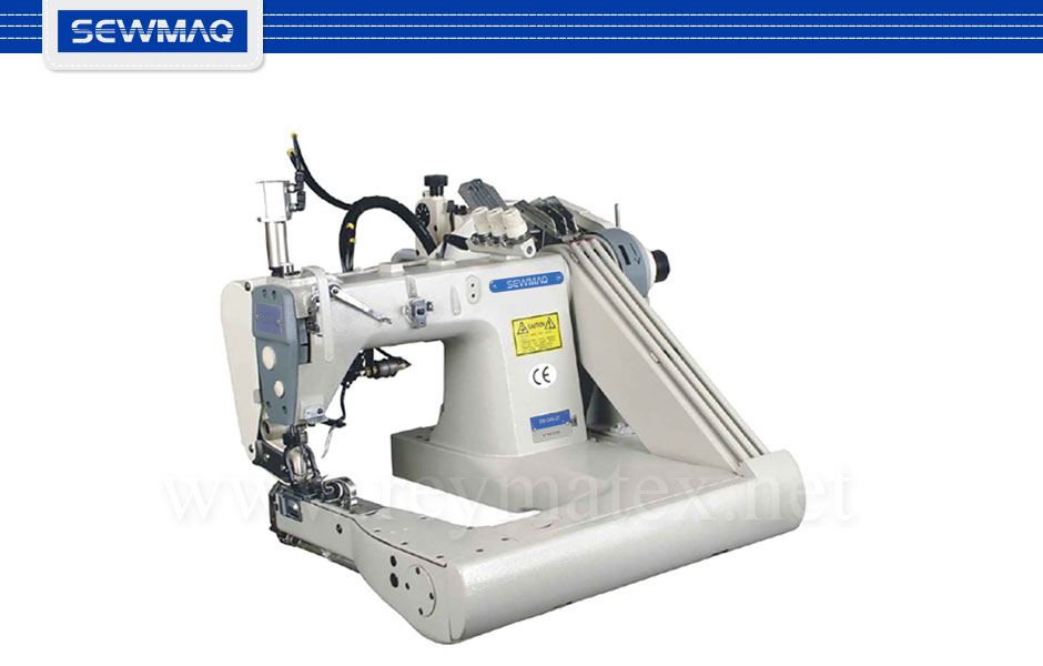SW-345-1H/PBF Sewmaq double chainstitch machines. Reymatex españa portugal france italia. Máquina de coser de cadeneta industrial.