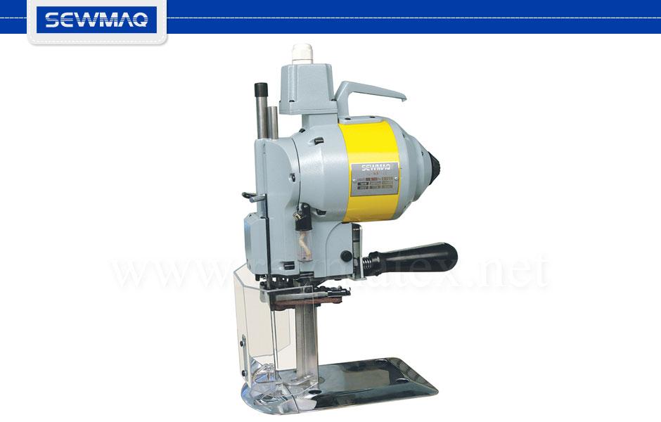 SW-MB-100 - 0A7002 SEWMAQ cutting reymatex. Octa type round knife cutting machine. Hexagonal knife with grinder and bed knife. Diameter of knife: 100mm.Máquina de cortar tipo OCTA. Cuchilla 100 mm de diámetro. Equipada con cuchilla de cantos y contracuchilla. Re