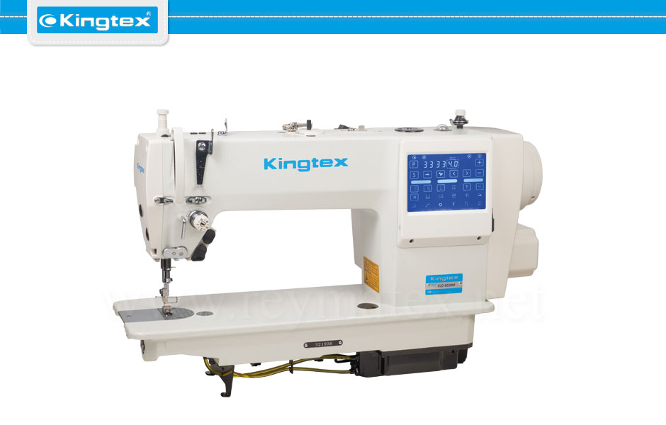 Kingtex lockstitch machines. KLD-8520M reymatex españa portugal france italia. Máquina de coser industrial pespunte.