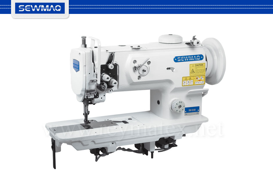 SW-1510H / SW-1520H Sewmaq lockstitch, compound feed machine. Reymatex españa portugal france italia. Máquina de coser industrial de pespunte, de triple arrastre.