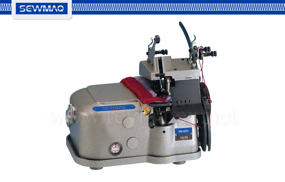 SW-2503 / SW-2503-K. Máquina de sobrehilar alfombras. Carpet and rugs finishing sewing machine overedge. Reymatex Italia - France - Deutschland - Portugal. España