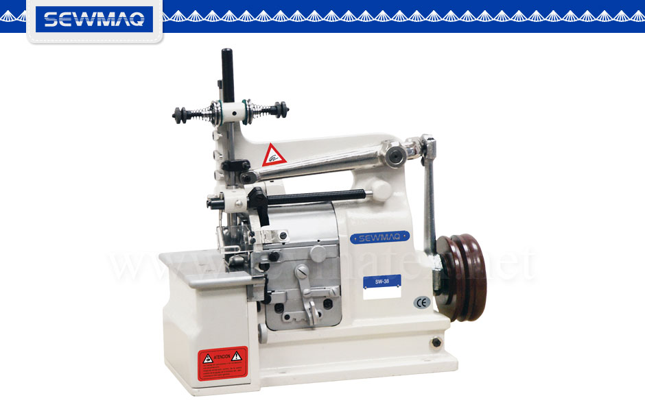 SW-38 / SW-27. Máquina de pechinas-Puntadas decorativas. Decorative stitches machine. Reymatex Italia - France - Deutschland - Portugal. España