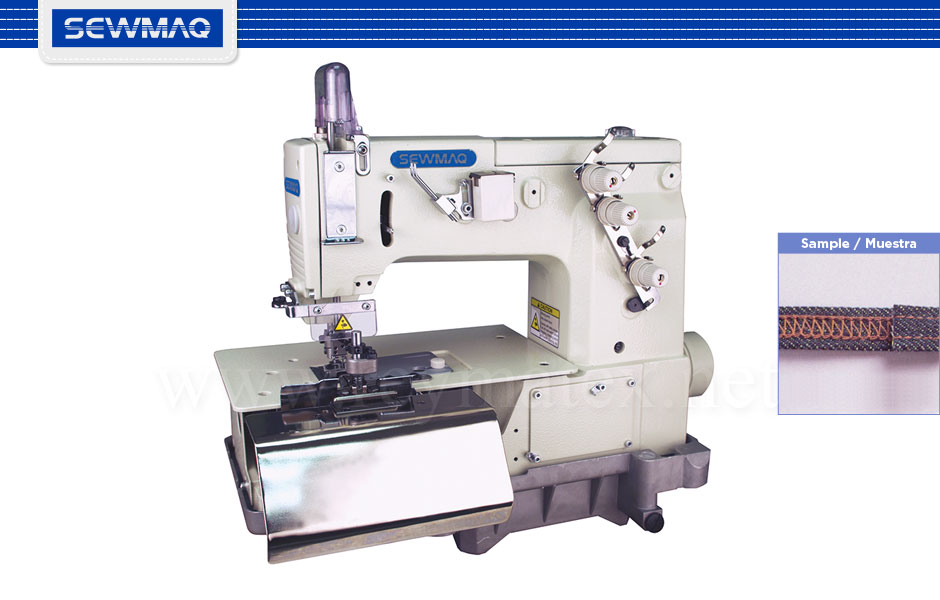 SW-B2000C - Máquina para costura de tejanos. Chainstitch machine for jeans. Reymatex Italia - France - Deutschland - Portugal. España